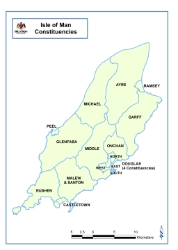 Constituency Maps Isle Of Man General Election Information - Isle of man map